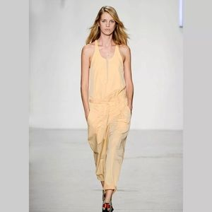 HELMUT LANG Odyssey cotton overall jumpsuit size 6
